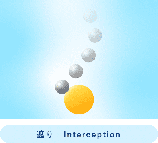 遮り Interception
